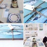 Mackerel placemats & coasters