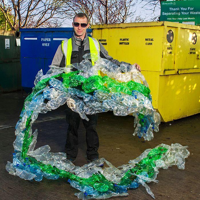 Plastic bottle recycling website
