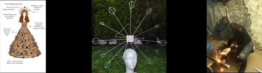 Timeless Headdress making of first x3