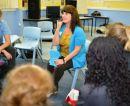 Melissa Drug Ed group work