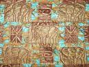 Elephants lap quilt 66 x 60