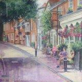 sunlit street Winchester