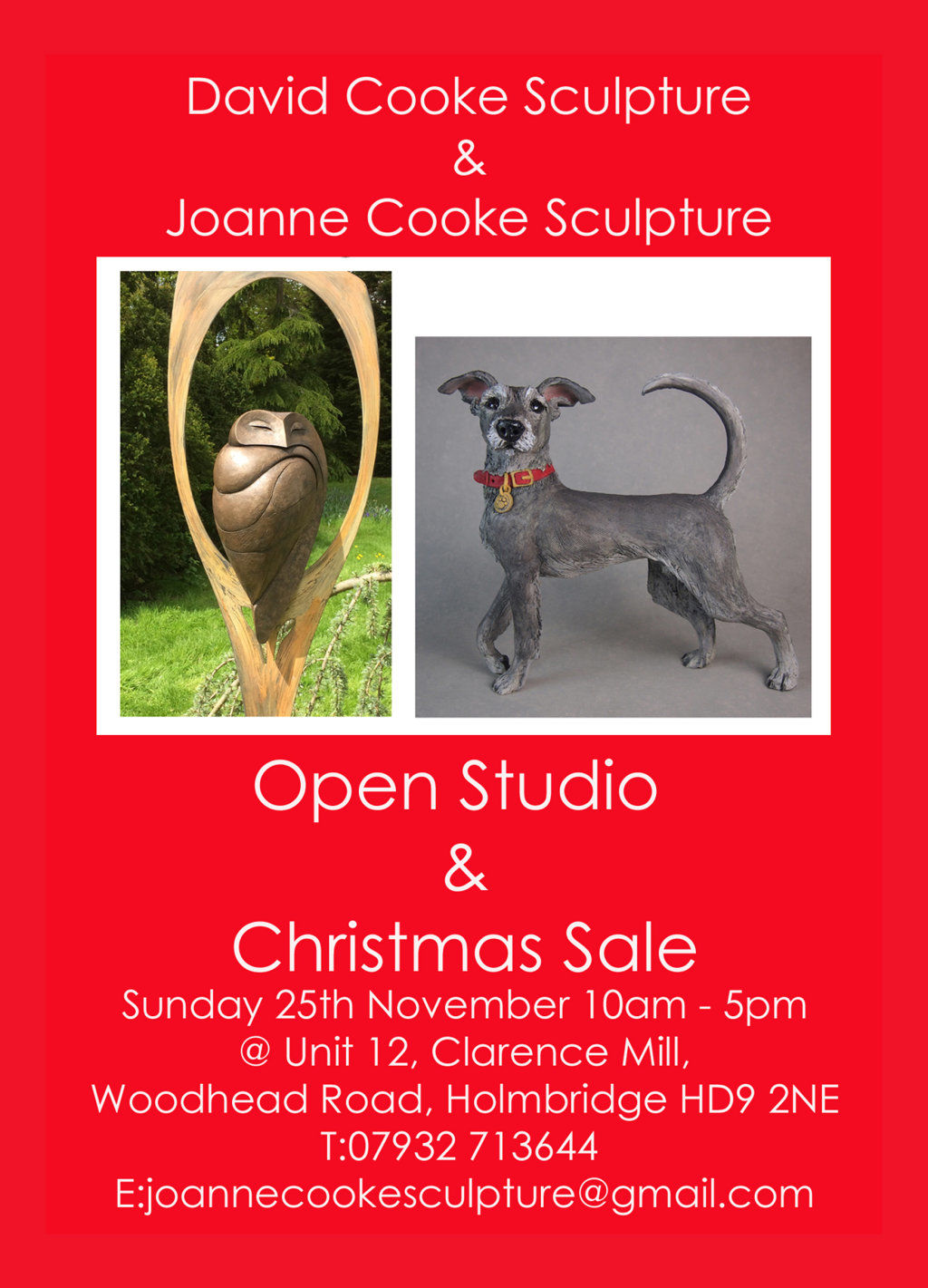 Open Studio & Christmas Sale