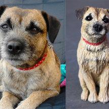 Bluebell Border Terrier, commission 2017