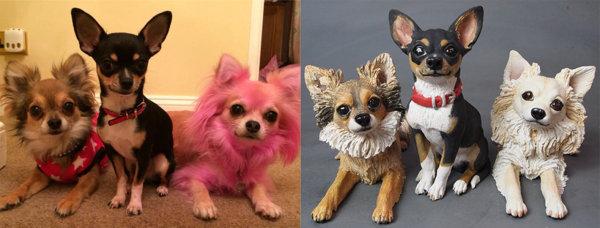 Papi, Tippi & Lila Chihuahua Commission 2014