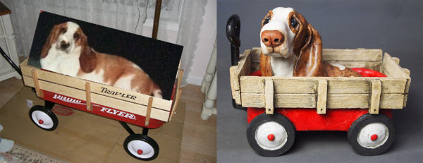 Fergus in a Cart, commission 2015