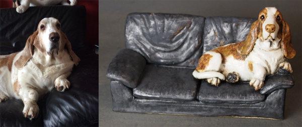 Fergus on the Sofa, Commission 2015