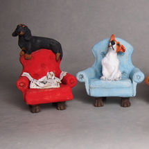 Dogs on Chairs 2018
