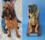 Homer, Bloodhound Sculpture 2012