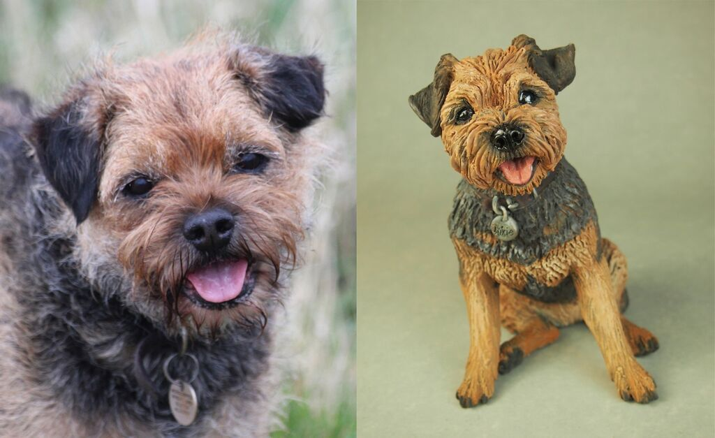 Inkie, Border Terrier Commission 2020