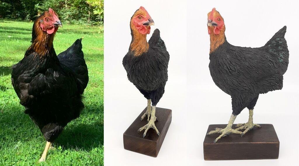 Jaffa the Hen, commission 2020
