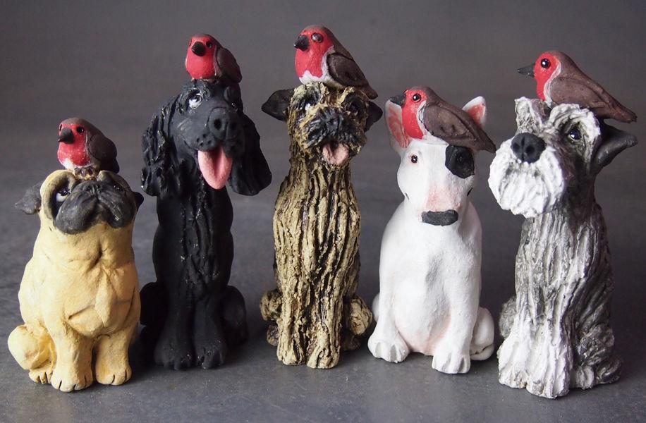 Festive Range of Mini Dogs for Christmas 2017