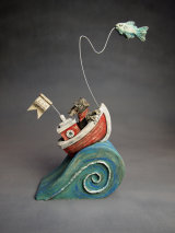 """Something a bit different! """"Salty Rides The Wave!"""" 2014"""