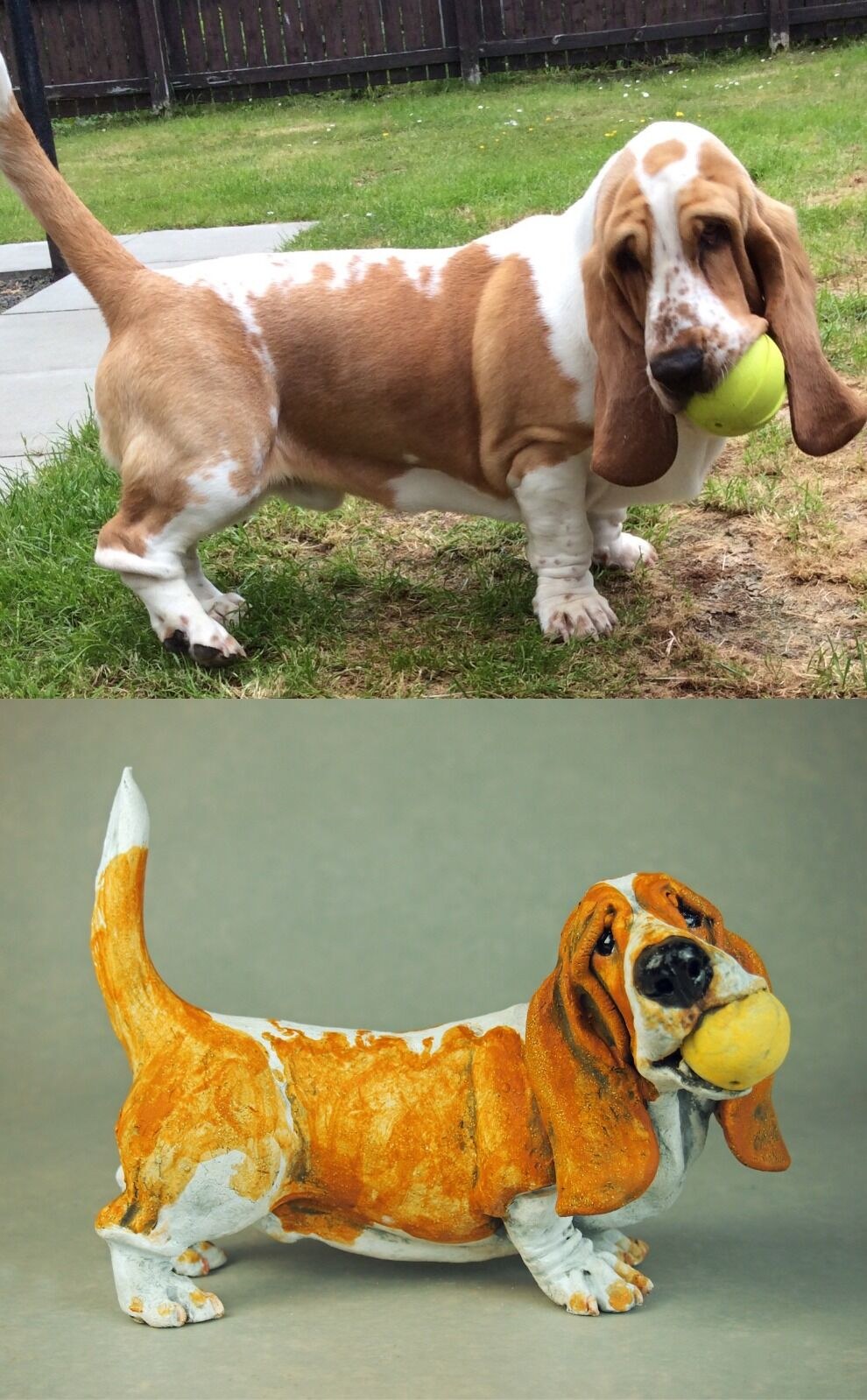 Stanley Basset and his ball, Commission 2020