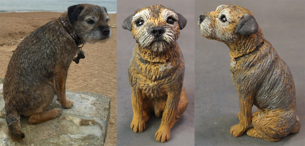 Toby Border Terrier, Commission 2016