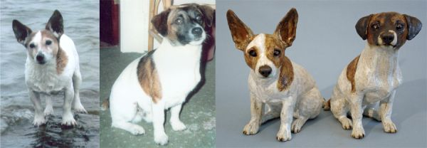 Jed & Judy, Jack Russell Commission 2009