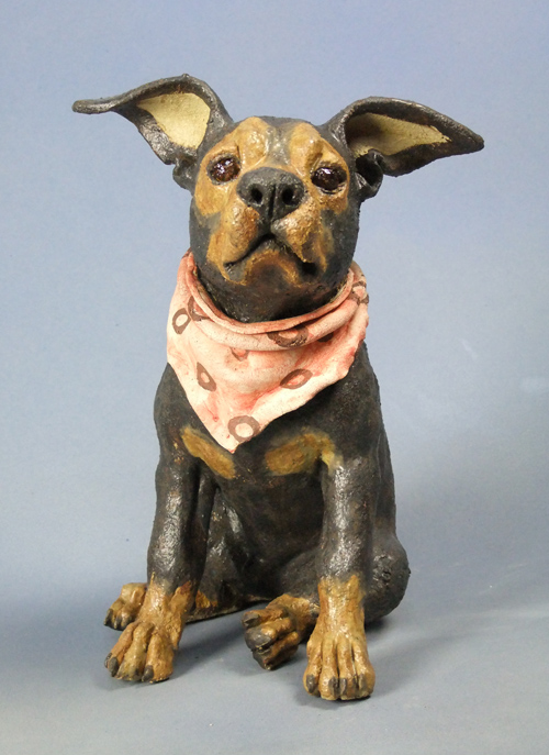 Mutt with scarf 2011
