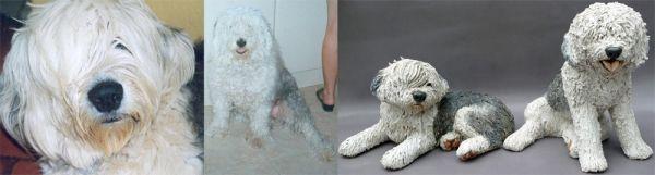 Old English Sheepdog Commission 2011