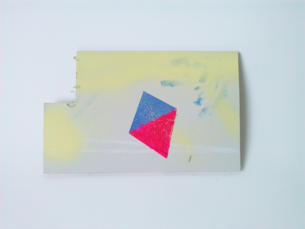 Tri Series - Pink and Blue on Grey (2012)
