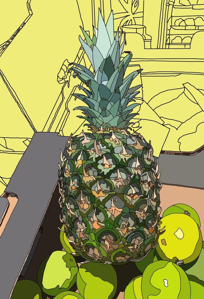 Supermarket Pineapple