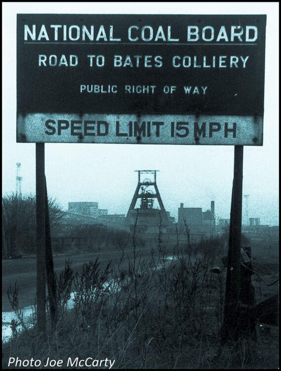 Bates Sign Blyth