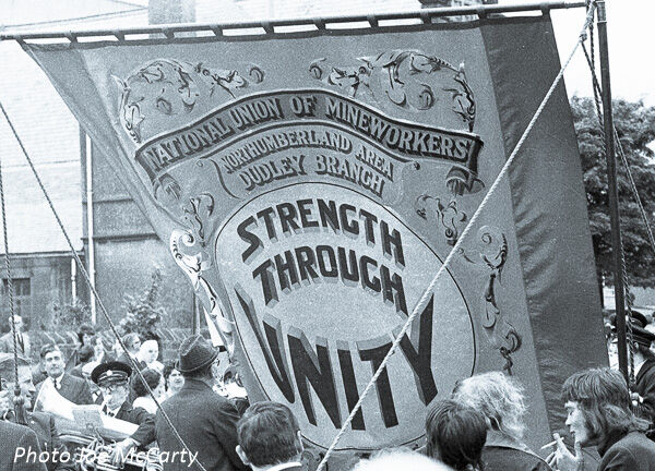 Dudley Colliery Northumberland Banner