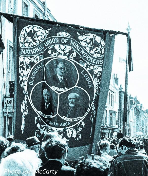 Durham Miners Gala 2 Blackhall Banner