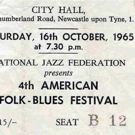 Folk Blues Festival 1965