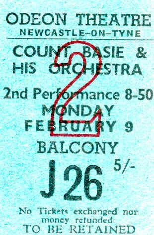 Count Basie 1959 (Odeon Newcastle)