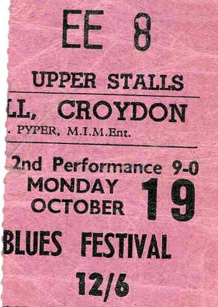 Blues Festival 1964