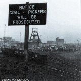 Blyth Coal Pickers Notce