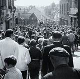 Durham Miners Gala Parade crowd
