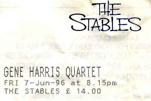 Gene Harris Quartet (Stables)
