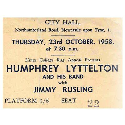 Humph Lyttelton Jimmy Rushing