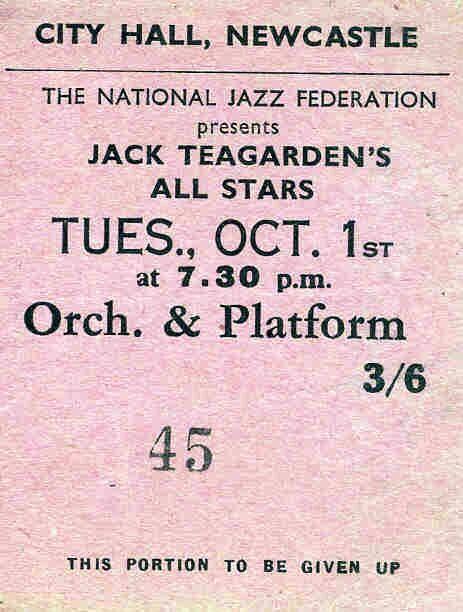 Jack Teagarden 1957