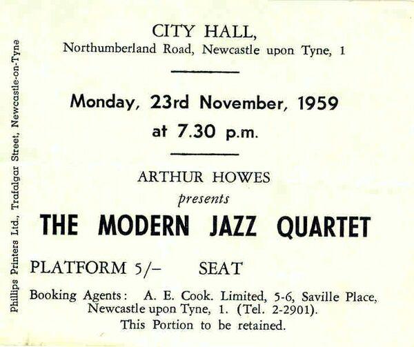 Modern Jazz Quartet 1959