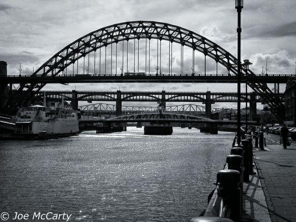 Newcastle Tyne bridges