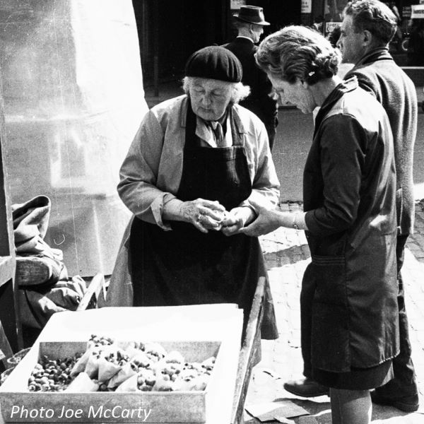 Newcastle street stall whelks