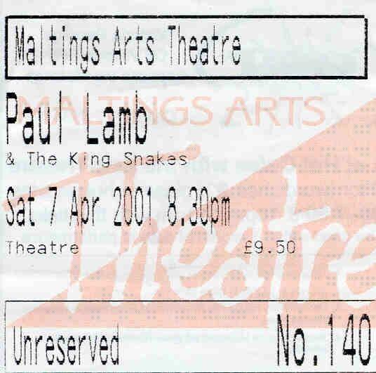 Paul Lamb King Snakes