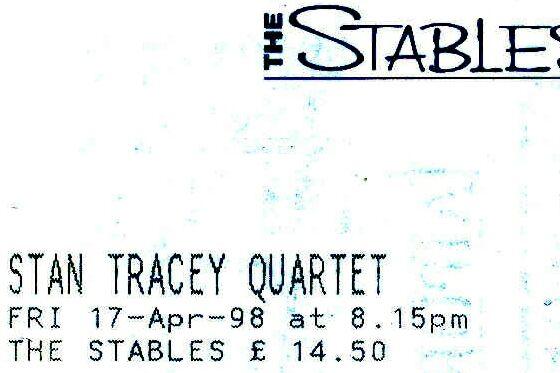 Stan Tracey Quartet (Stables)