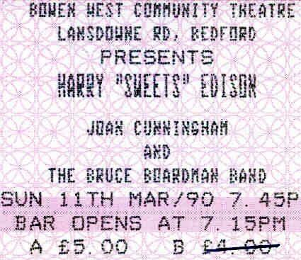 Harry Sweets Edison (Bowen West Bedford)