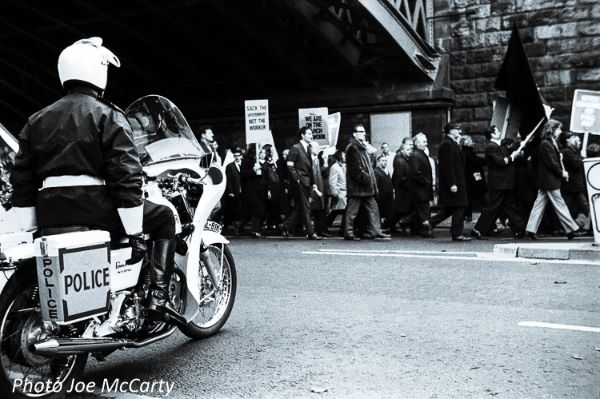 Unemployment March Newcastle