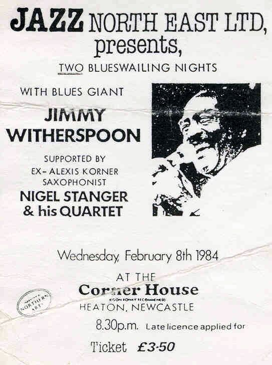 Jimmy Witherspoon 1984 (Corner House Newcastle)