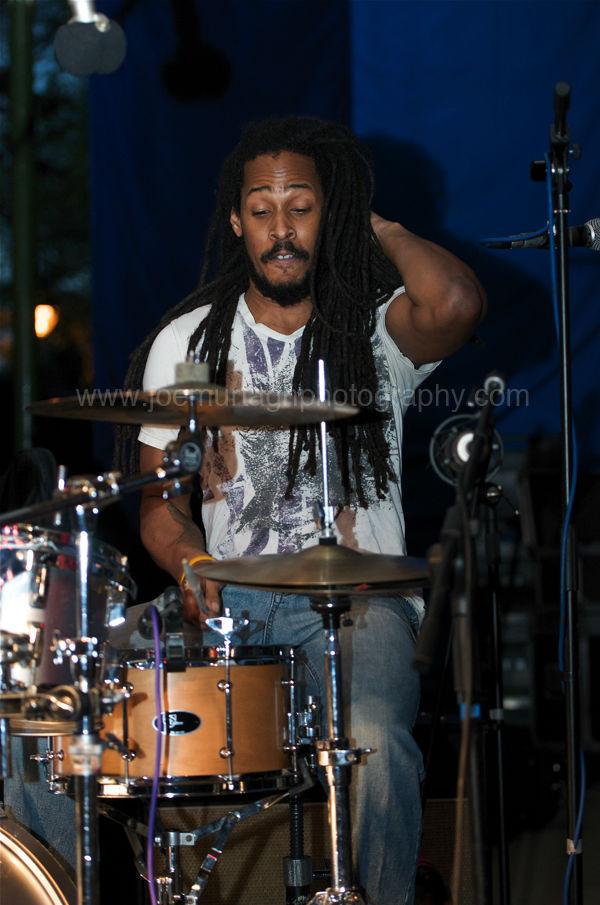 Drummer with Hamilton Loomis