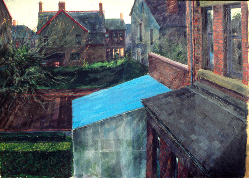 Blue GreenHouse