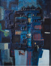 """Artillery Flats, New Lodge Road"" 1971 , mixed media"