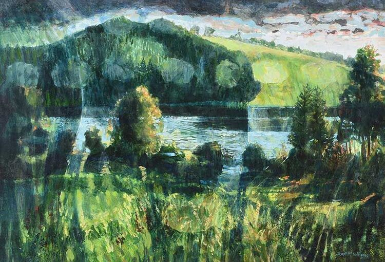 FROM TYRONE GUTHRIE HOUSE, ANNAGHMAKERRIG, COUNTY MONAGHAN' BY JOSEPH MCWILLIAMS PPRUA
