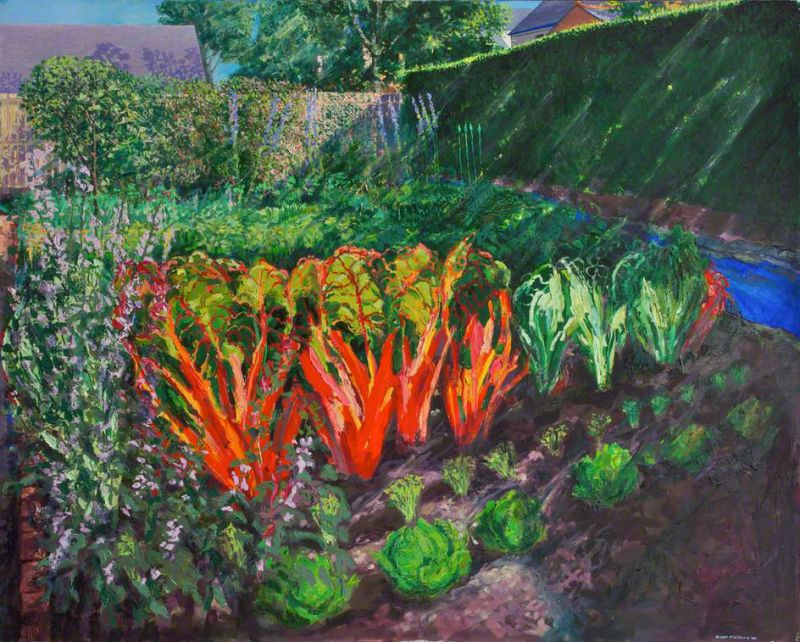 Red Chard oil on canvas 122 x 152