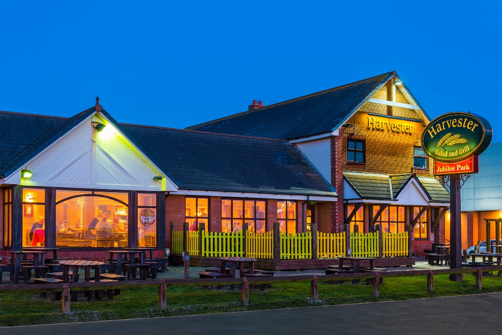 Harvester pub, Jubilee Park, Cleveleys