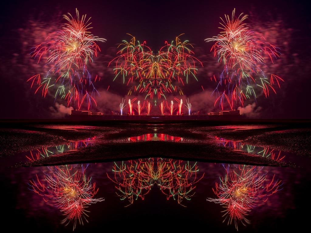 fireworks,blackpool